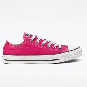 hot pink converse